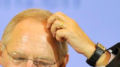 Wolfgang Schäuble Schäuble und der öffentliche Dienst