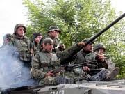 Georgische Soldaten dpa