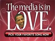 Obama, Screenshot: www.johnmccain.de