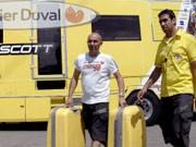 spanische Mannschaft Saunier Duval