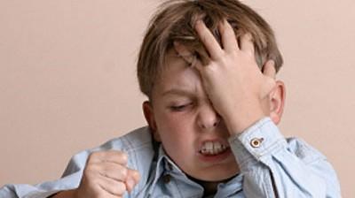 Stress bei Schulkindern