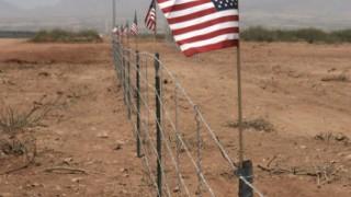 """Die """"Mauer"""" zwischen USA und Mexiko"""