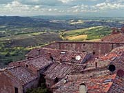 Montepüulciano Toskana, dpa