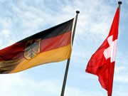 Schweiz und Deutschland, Foto: dpa