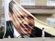 Erdogan-Plakat, AFP