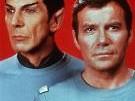 Wissenschaft trifft Leidenschaft: Mr Spock (Leonard Nimoy) und Captain James T. Kirk (William Shatner).