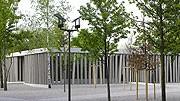 Besuchergebäude Gedenkstätte Dachau