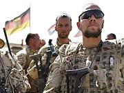 Bundeswehr Kundus deutsche Soldaten Afghanistan Taliban AP