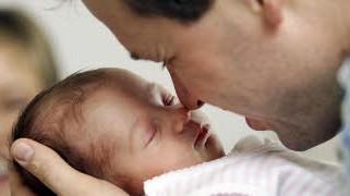 Väter bei der Geburt; ap