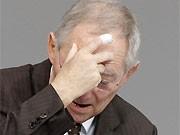 Schäuble, CDU, dpa