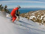 Skigebiet Heavenly, Kalifornien, USA, Herbke