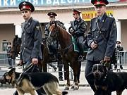 Russland, Polizei, AFP