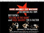 Rage Against The X-Factor Facebook-Seite