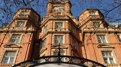 London England: Tod im Luxushotel