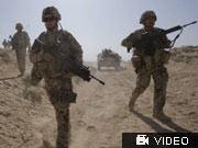 Schwieriger Einsatz: Deutsche Soldaten in Afghanistan; ddp