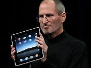 Steve Jobs, iPad, AFP
