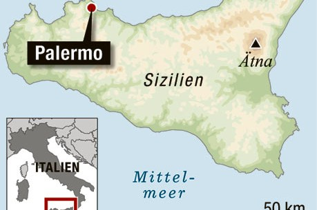 palermo karte Palermo Karte Italien | Kleve Landkarte