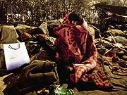 Reuters, Indien, Obdachloser Junge, Kälte