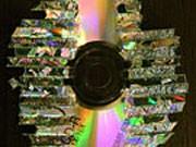 Zerstörte CD