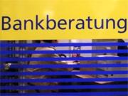 Bankberatung, dpa