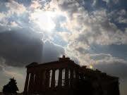 Akropolis; Athen; AP