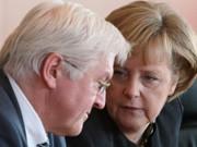 Steinmeier; Merkel; Getty