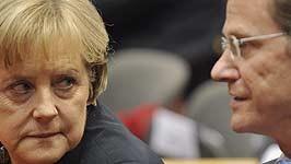 Merkel, Westerwelle, AP