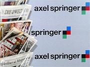 Logo von Axel Springer und Springer-Presse; ddp