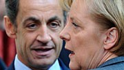 Angela Merkel Merkel und Sarkozy in Paris
