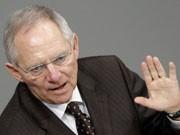 Finanzminister Wolfgang Schäuble, Foto: dpa