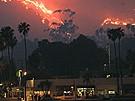 Insel Catalina von den Flammen bedroht (Bild)