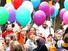 Luftballons mit Wünschen (Bild)