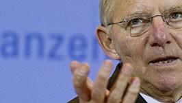 Finanzminister Wolfgang Schäuble, AP