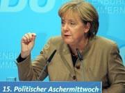 Kanzlerin Angela Merkel; dpa