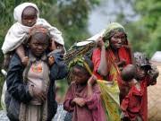 Flüchtlinge nahe Goma im Ostkongo, AFP