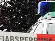Polizeiabsperrung, dpa