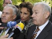 Huber, Haderthauer, Beckstein, Reuters
