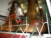 brennblasen in der lagavulin-destillerie ; Schätzl