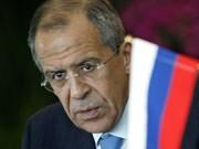 Russischer Außenminister Sergej Lawrow; AP