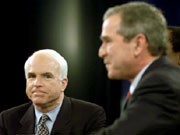 Bush, McCain, Reuters