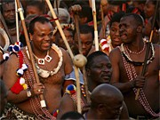 König Mswati III. von Swasiland; dpa