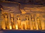 Afrika Ägypten Nil Nasser-Stausee Abu Simbel, Ägyptisches FVA/dpa
