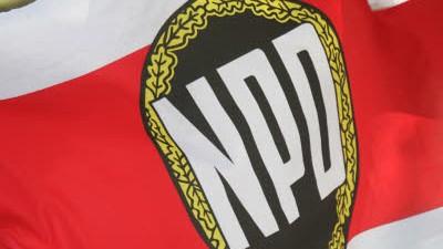 Bayern Wahlkampf der NPD