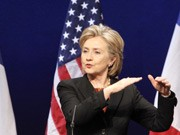 US-Außenministerin Hillary Clinton; AP