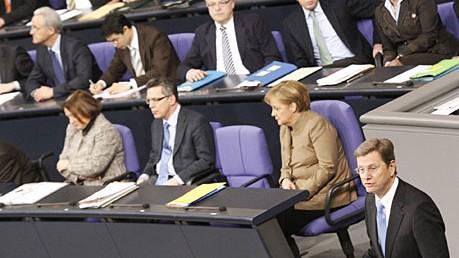 Gudio Westerwelle Außenminister Afghanistan Bundestag Reuters