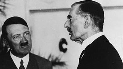 Zweiter Weltkrieg Münchner Abkommen 1938