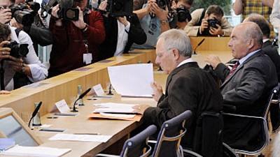 Schäubles Gipfel