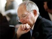 Innenminister Schäuble, ddp