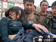 Erdbeben, China, AP