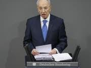 Schimon Peres; Israel; Bundestag; AP